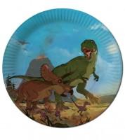 """Pappteller """"Dinos"""" - 8 Stück"""