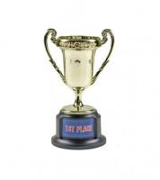 Kleiner Pokal zum individuellen Bekleben - 12,5 cm