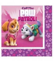 """Servietten """"Paw Patrol Pink"""" - 20 Stück"""