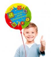 """Runder Folienballon """"Alles Gute zum Schulanfang"""""""