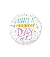 "Runder Folienballon ""Have a magical Day"""