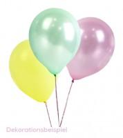 """Luftballon-Set """"Pastell"""" - 16 Stück"""