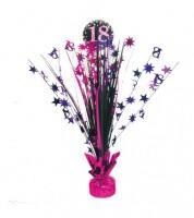 """Tischaufsteller """"Sparkling Pink"""" - 18. Geburtstag"""