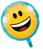 "Runder Folienballon ""Emoticon"""