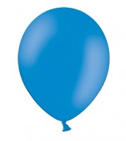 Standard-Luftballons - cornflower blue - 10 Stück