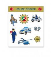 """Sticker-Set """"Polizei"""" - 8 Stück"""