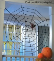 Großes Seil-Spinnennetz - 1,5 x 1,5 m