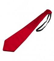 Krawatte - metallic rot