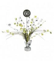 """Tischaufsteller """"Sparkling Celebration"""" - 60. Geburtstag"""