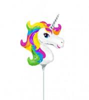 "Minishape-Folienballon ""Einhorn-Zauber"""