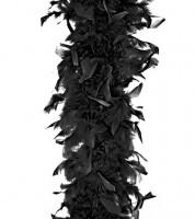 Federboa - schwarz - 1,8 m