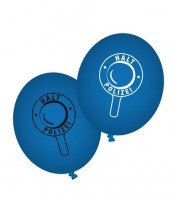 "Luftballons ""Polizei"" - 8 Stück"