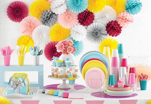 Partydeko sicher online shoppen im Pink Dots Partystore