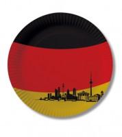 """Pappteller """"Deutschland"""" - 10 Stück"""