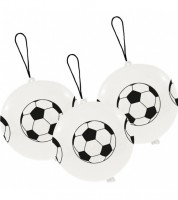 """Luftballons Punchball """"Fußball"""" - 3 Stück"""