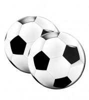 """Servietten """"Fußball"""" - rund - 20 Stück"""