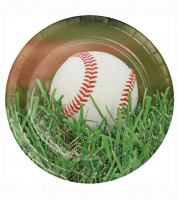 """Pappteller """"Baseball"""" - 8 Stück"""