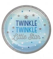 """Pappteller """"One Little Star - Boy"""" - 8 Stück"""