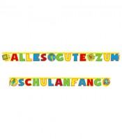 """Schriftzuggirlande """"Schulanfang"""" - 4 m"""