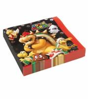 "Servietten ""Nintendo Super Mario"" - 20 Stück"