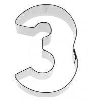 """Ausstechform Zahl """"3"""""""
