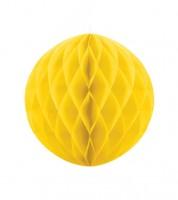 Wabenball - 20 cm - gelb