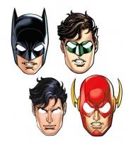 """Masken """"Justice League"""" - 8 Stück"""