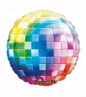 "SuperShape-Folienballon ""Disco Fever 70er Jahre"" - Discokugel"