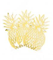 """Shape-Servietten """"Ananas"""" - 12 Stück"""