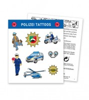 "Tattoos ""Polizei"" - 8 Motive"