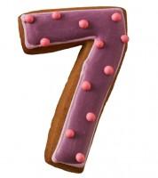 """Ausstechform Zahl """"7"""""""