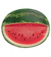 "Ovale Pappteller ""Wassermelone"" - 8 Stück"