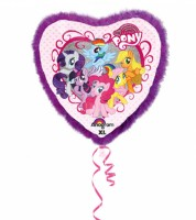 "Jumbo-Herz-Folienballon ""My Little Pony"""