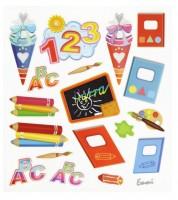 """Design-Sticker """"Einschulung"""" - 1 Bogen"""