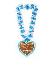 """Hawaiikette aus Stoff """"O'Zapft"""""""
