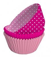 Muffinförmchen-Set - pink/rosa - 75 Stück