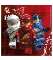 "Servietten ""Lego Ninjago"" - 20 Stück"