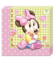 """Servietten """"Baby Minnie"""" - 20 Stück"""