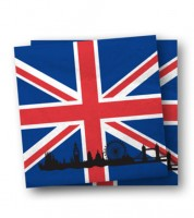"""Servietten """"England"""" - 20 Stück"""