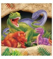 """Kunststoff-Tischdecke """"Dinosaurier"""" - 137 x 274 cm"""