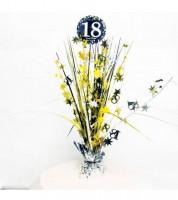 """Tischaufsteller """"Sparkling Celebration"""" - 18. Geburtstag"""