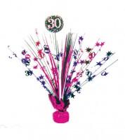 """Tischaufsteller """"Sparkling Pink"""" - 30. Geburtstag"""