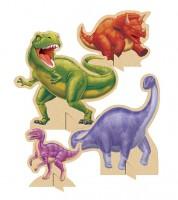 """Aufsteller """"Dinosaurier"""" - 4 Stück"""