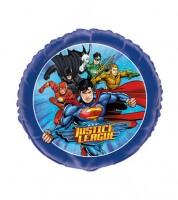 "Runder Folienballon ""Justice League"""