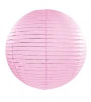 Papierlampion - rosa - 35 cm