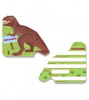 """Einladungskarten """"Tyrannosaurus Rex"""" - 6 Stück"""