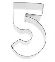"""Ausstechform Zahl """"5"""""""