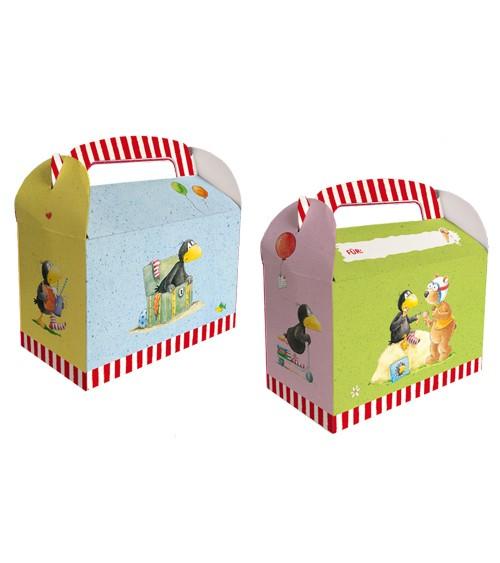 """Geschenke-Boxen """"Der kleine Rabe Socke"""" - 6 Stück"""