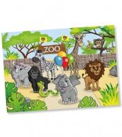"""Platz-Sets """"Zoo"""" - 8 Stück"""