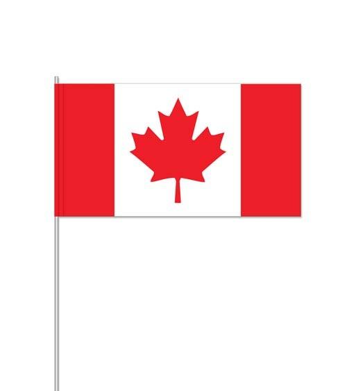 "Papierflaggen ""Kanada"" - 10 Stück"